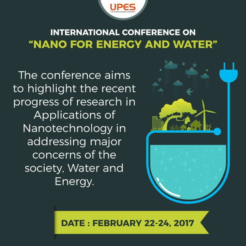upes nano technology conference