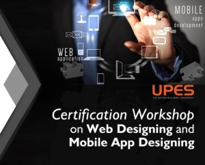 upes bca web and mobile design workshop course